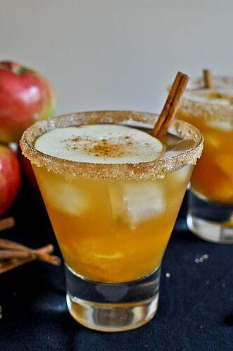 Apple Cider Margaritas