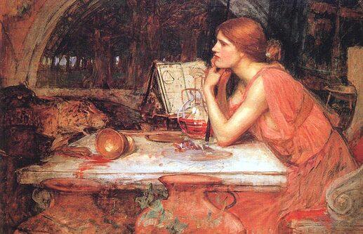 Waterhouse_JW_-_The_Sorceress_1913