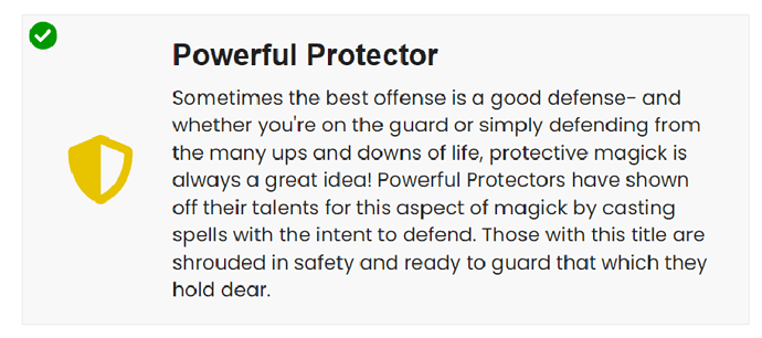 Protector title