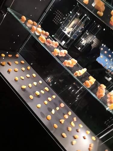 Amber displays