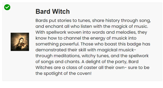 Bard Witch